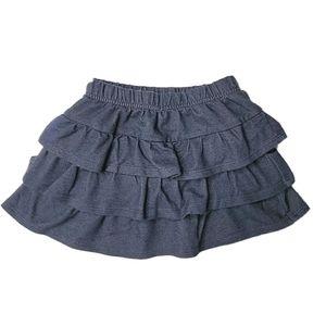 Garanimals Ruffle Skirt Girl 24 Months Blue Knit
